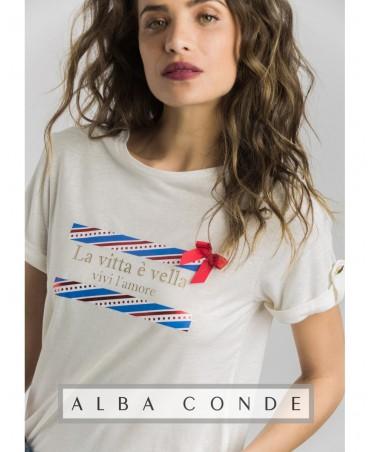 CAMISETA  ALBA CONDE