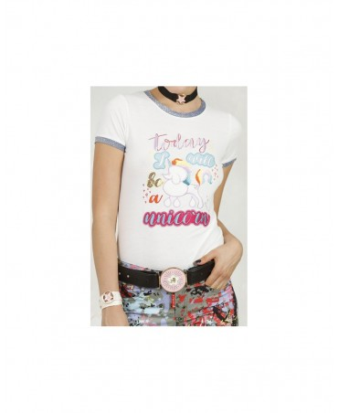 CAMISETA UNICORNIO HIGHLY PREPPY